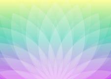 Abstrakte Blume-förmige Verzierung lizenzfreie stockfotografie