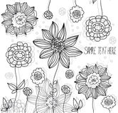 Abstrakte Blumen des Vektors Stockbilder