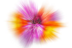 Abstrakte Blumen verwischten Hintergrund Stockbild