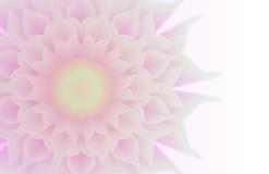 Abstrakte Blumen in Zen Style Lizenzfreies Stockfoto