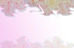 Abstrakte Blumen in Zen Style Lizenzfreie Stockfotografie
