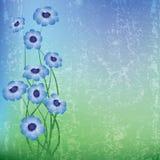 Abstrakte Blumenabbildung Stockfotografie
