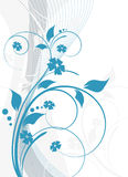 Abstrakte Blumenauslegung vektor abbildung