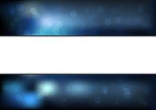 Abstrakte bokeh Hintergrund-Vektorillustration Lizenzfreies Stockbild