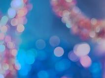 Abstrakte bokeh Hintergrundserie stockbild