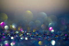 Abstrakte bokeh Lichter für Hintergrund Lizenzfreies Stockbild