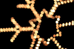 abstrakte bokeh Weihnachtslichter Lizenzfreies Stockfoto