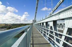 Abstrakte Brücke Stockfoto