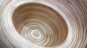 Abstrakte Braunspiralenlinie Hintergrund Lizenzfreie Stockfotografie