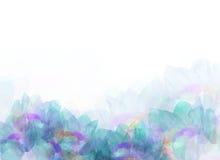 Abstrakte bunte Blumenhintergrundillustration Stockfotos