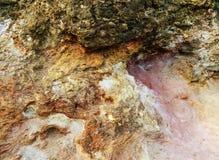 Abstrakte bunte Grundstruktur in Elba Stockbild