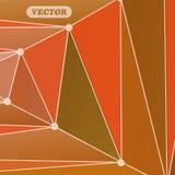 Abstrakte bunte Dreiecke Stockfoto