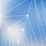 Abstrakte bunte Dreiecke Stockfotos