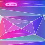 Abstrakte bunte Dreiecke Stockbild
