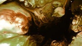 Abstrakte bunte Farben-Tinten-Flüssigkeit explodieren Diffusion Pshychedelic-Explosions-Bewegung stock footage