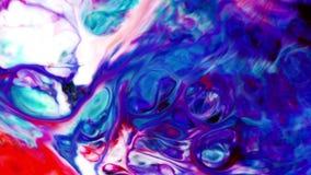 Abstrakte bunte Farben-Tinten-Flüssigkeit explodieren Diffusions-psychedelische Explosions-Bewegung stock video footage