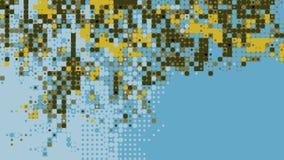 Abstrakte bunte geometrische erzeugte Hintergrundtapete Stockfoto