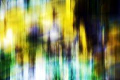 Abstrakte bunte goldene grün-blaue klare Schatten, abstrakte Beschaffenheit Stockfotografie