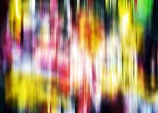 Abstrakte bunte goldene orange weiße phosphoreszierende grüne rote blaue klare Schatten, abstrakte Beschaffenheit Lizenzfreies Stockfoto