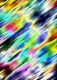 Abstrakte bunte goldene phosphoreszierende grüne rote blaue klare Schatten, abstrakte Beschaffenheit Stockfotos