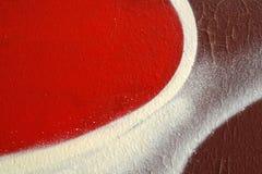 Abstrakte bunte Hintergrundabschluss-obenstraßenkunst Stockbild