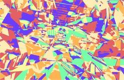Abstrakte bunte Hintergrundschablone stockfoto