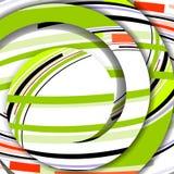 Abstrakte bunte Illustration Lizenzfreies Stockbild