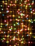 Abstrakte bunte Leuchte Stockfotografie