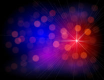 Abstrakte bunte Leuchten Lizenzfreie Stockfotografie