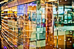 Abstrakte bunte Lichter und Reflexionen Lizenzfreie Stockbilder