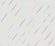 Abstrakte bunte Linien auf Steigungshintergrund Stockfotos