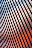 Abstrakte bunte Metallstreifen Lizenzfreies Stockbild