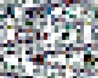 Abstrakte bunte Quadratformen, -graphiken, -geometrie, -hintergrund und -beschaffenheit vektor abbildung