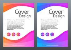 Abstrakte bunte Schablone Helle Steigung bewegt auf weißen Hintergrund wellenartig Kreatives Design für Broschüre, Plakat, Fahne Stockfoto