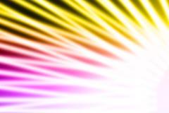 Abstrakte bunte Strahlen der Leuchte Lizenzfreie Stockfotografie