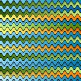 Abstrakte bunte Wellen Stockbild