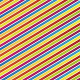 Abstrakte bunte Zeilen Muster Stockfotografie