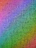 Abstrakte chaotische Regenbogenrasterfeld-Hintergrundbeschaffenheit, Lizenzfreies Stockbild