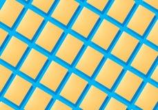 Abstrakte Collage von Blättern des farbigen Papiers Stock Abbildung