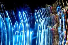 Abstrakte colurful Lichter Stockbild