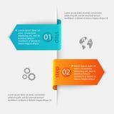 Abstrakte 3D digitale Illustration Infographic Vektor Illustratio Lizenzfreies Stockfoto