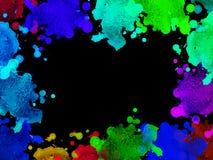 Abstrakte Dekorationstapete stockbild