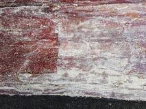 Abstrakte Designhintergrund-Rosa-, weiße und empfindlicheburgunder-Farben sind, an der Unterseite ist dunkler Streifen, ein leere Lizenzfreie Stockfotos