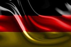 Abstrakte deutsche Flagge Lizenzfreie Stockfotos
