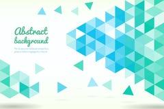 Abstrakte Dreieckformen Stockfoto