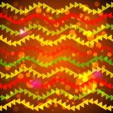 Abstrakte Dreieckgirlanden Stockfoto