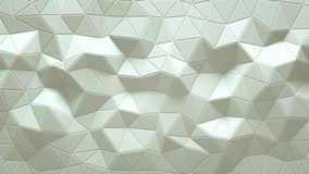 Abstrakte dreieckige kristallene Hintergrundanimation 4K stock video