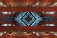 Abstrakte dynamische Architektur Lizenzfreies Stockbild