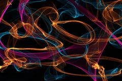 Abstrakte dynamische Linien Hintergrund Stockbilder
