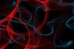 Abstrakte dynamische Linien Hintergrund Lizenzfreie Stockfotos
